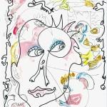 (Gravures et dessins) encre couleur (01)(lo)