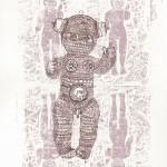 (Gravures et dessins) lino et encre (01)(lo)