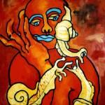La femme aux escargots