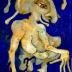 (Peinture Outremer) Cadeau bleu bestial900