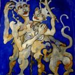 (Peinture Outremer) Cadeau couple 3900