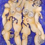 (Peinture Outremer) Grands hermaphrodites(lo)